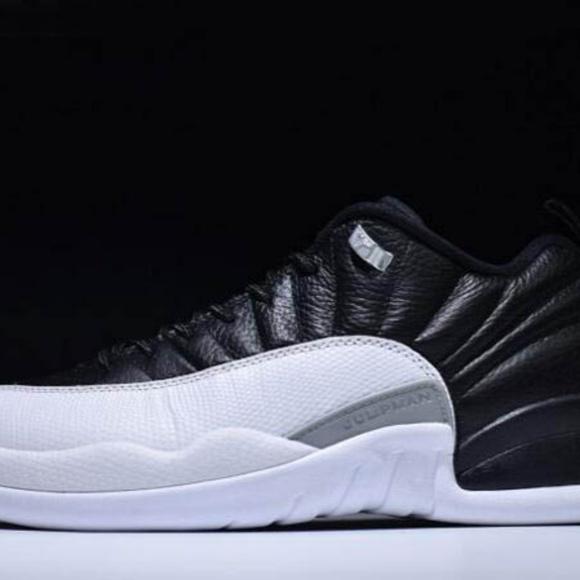 8dd688a55e1 Shoes | Nike Air Jordan 12 Low Playoffs Black Varsity Re | Poshmark